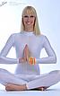 yoga girl in spandex