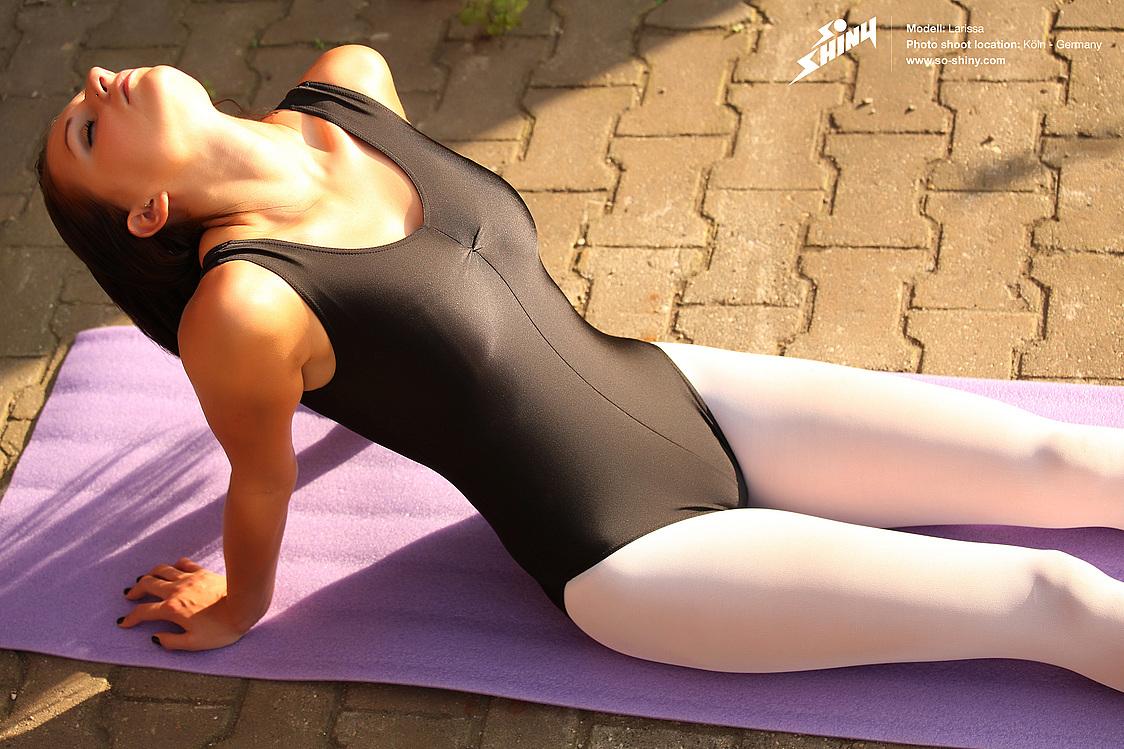 spandex yoga porn